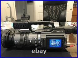Sony DSR-PD170 Digital Camcorder Mini DV DVCAM camera LOW Hours, excellent condi