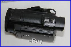 Sony FDR-AX33 Digital 4K Video Camera Recorder BOXED COMPLETE