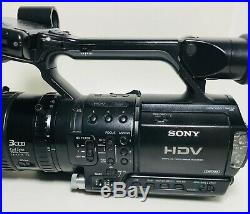 Sony HVR-Z1E Video Camera Recorder Digital HD Camcorder HDV 1080i Carl Zeiss