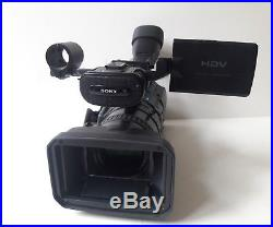 Sony HVR-Z1J HDV Digital HD Video Camera Recorder Camcorder ONLY 4x10 DRUM HRS