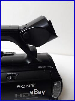Sony HVR-Z1U HDV Digital HD Video Camera Recorder Camcorder ONLY19 x10 drum hrs