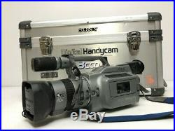Sony Handycam DCR-VX1000 3CCD Digital Video Recorder Audio withcarry case Working