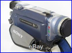 Sony TRV340E Digital 8 HandyCam USB Streaming Video8 Hi8 Compatible