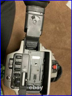 Sony Video DCR-VX2000 Digital Handy Camcorder Gray AS-IS FOR PARTS From Japan