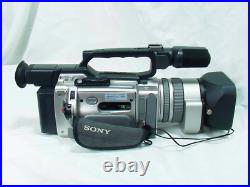 Sony Video DCR-VX2000 Digital Handy Camcorder Gray Excellent From Japan