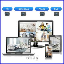 TOGUARD WiFi Home Security Camera System Wireless Video 1080P Outdoor CCTV Kits
