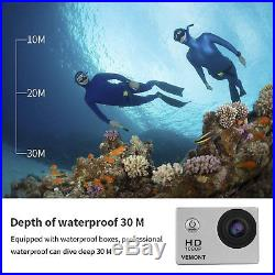 UnderWater Cam Extreme Sports Trackday 12MP Car Camera Digital Video Camcorder