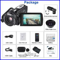 Video Camera Camcorder for YouTube CofunKool Full HD 1080P Vlogging Digital Came