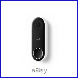 Video Doorbell Google Nest Hello with 7in Hub Touch Screen Chalk WIFI Smart NEW