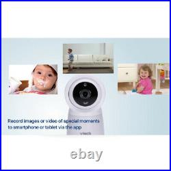 Vtech 7 Wi-Fi HD Safety Video/Audio Baby Monitor & 2x Cameras withRemote Access