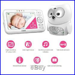 Vtech BM5100-OWL 5 LCD Video/Audio Monitor Mountable Night Safety Baby Camera