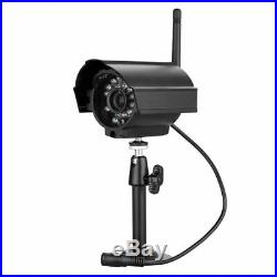 Wireless Cctv Camera Dvr Lcd 4 Digital Video Security System Outdoor Monitor 7
